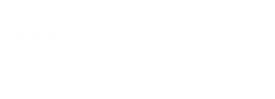 Stylized Dreamers Team Logo, formed by the combination of the letters D and T